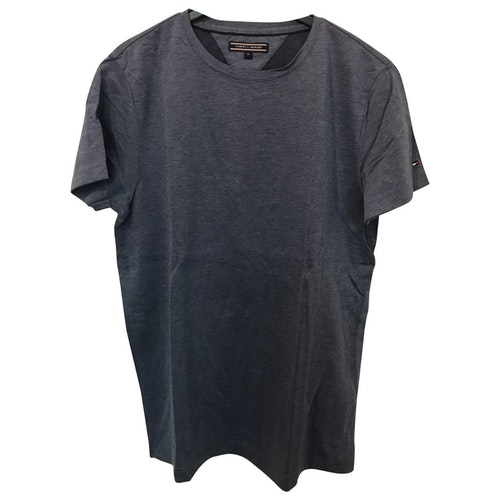 Tommy Hilfiger Blue Cotton T-shirts
