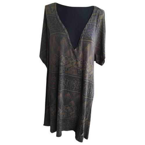 Pierre Balmain Khaki Dress