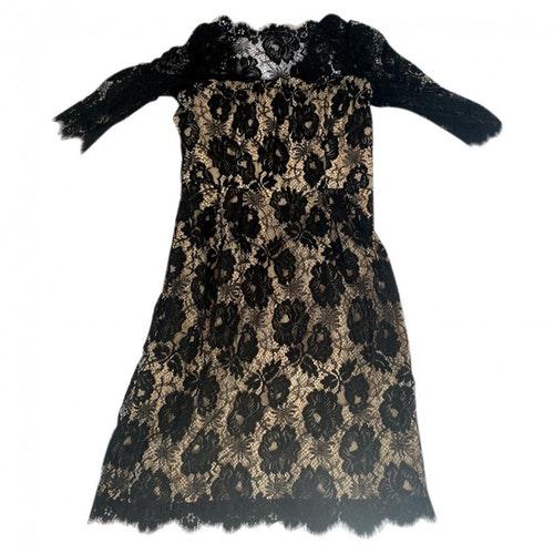 Milly Black Lace Dress
