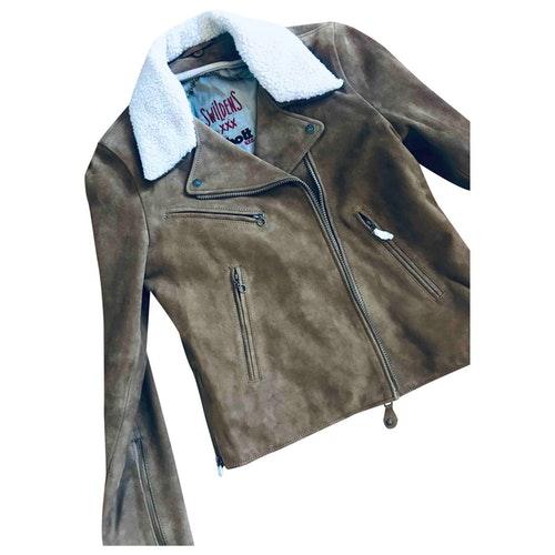 Swildens Camel Suede Jacket