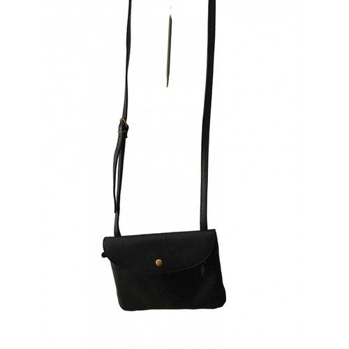 Il Bisonte Black Leather Clutch Bag