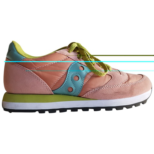 Saucony Pink Trainers