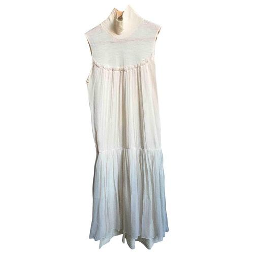 Vanessa Bruno White Wool Dress