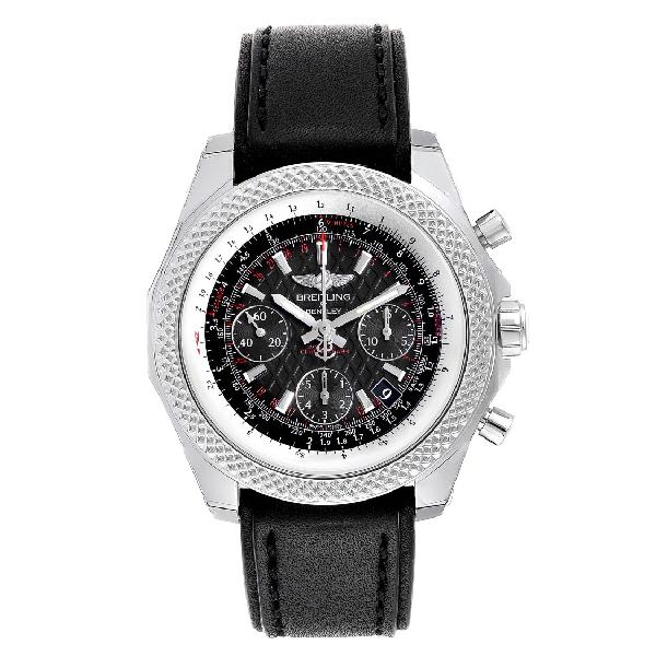 Breitling Bentley B05 Unitime Black Dial Mens Watch Ab0612 Unworn