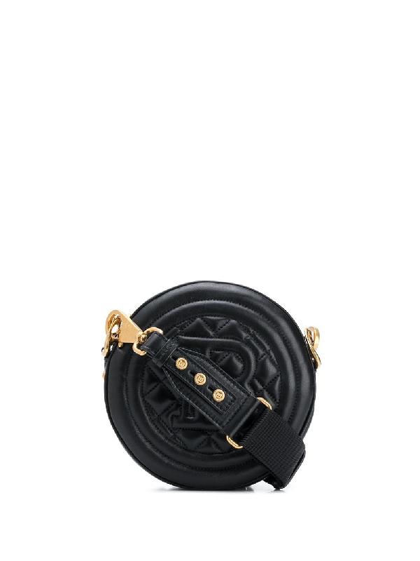 Balmain Disco Crossbody Bag In Black