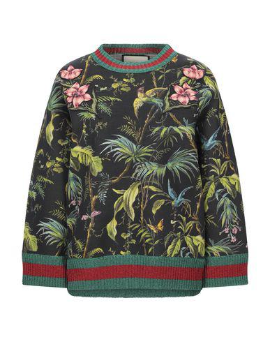 Gucci Sweatshirt In Black