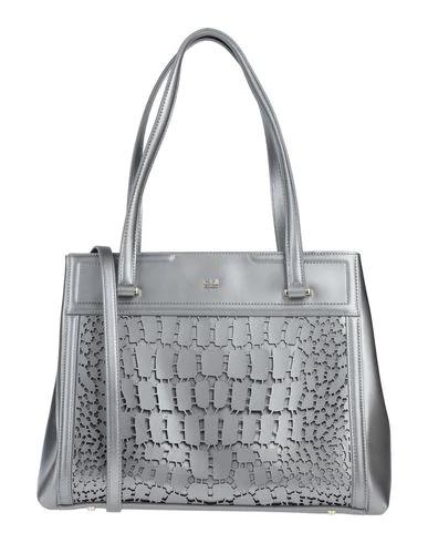 Cavalli Class Shoulder Bag In Grey