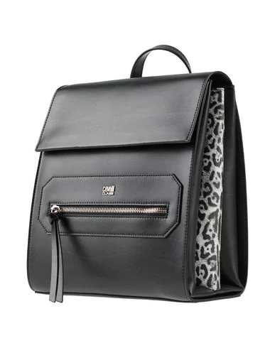 Cavalli Class Backpack & Fanny Pack In Black