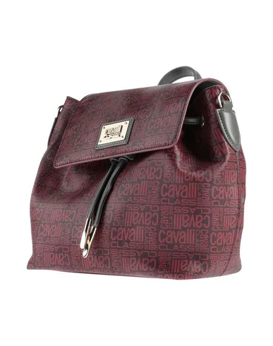 Cavalli Class Backpack & Fanny Pack In Maroon