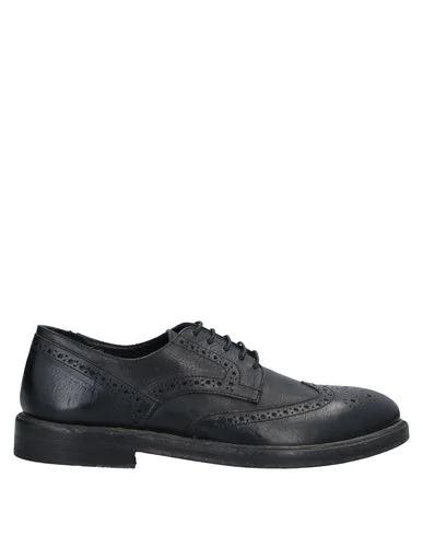 Savio Barbato Laced Shoes In Black