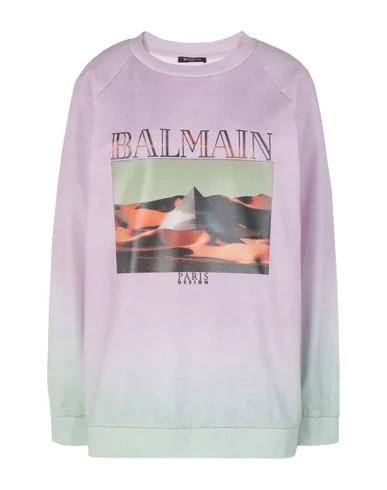 Balmain Sweatshirt In Lilac