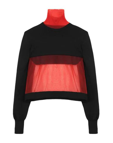 Maison Margiela Turtleneck In Black