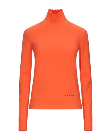 Maison Margiela Turtleneck In Orange