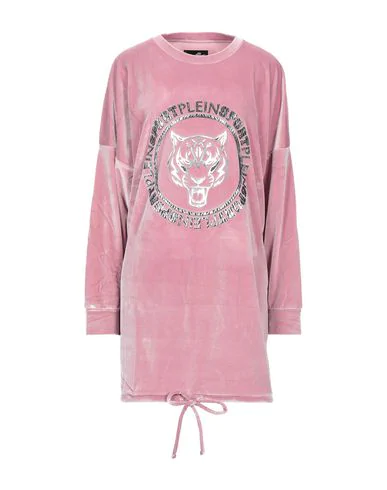 Plein Sport Sweatshirt In Light Pink