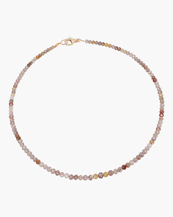 Nina Runsdorf Diamond Bead Necklace | Diamonds/yellow Gold