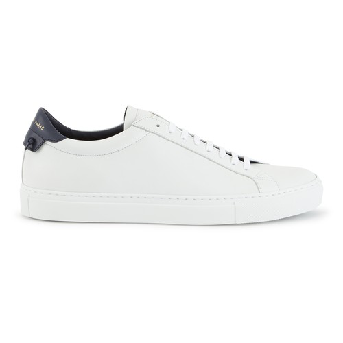 Givenchy Low-top Urban Street Sneakers In White/black In 131-wht/vy