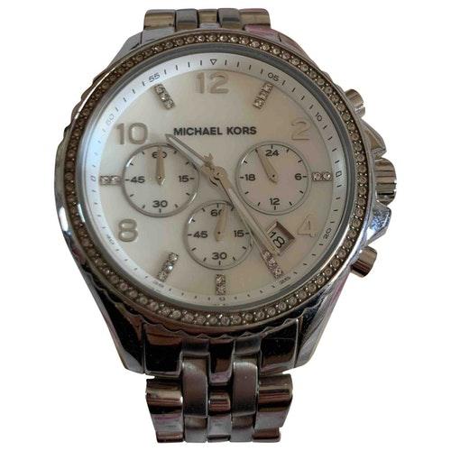 Michael Kors Silver Steel Watch