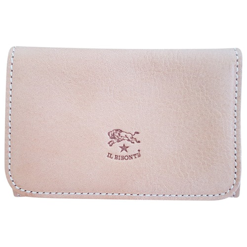 Il Bisonte Brown Leather Purses, Wallet & Cases