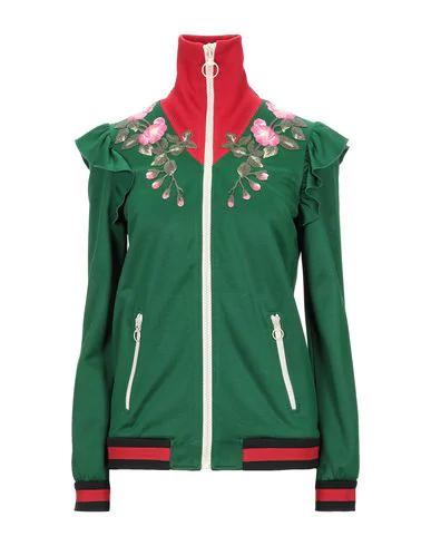 Gucci Sweatshirt In Green