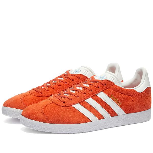 Adidas Womens Adidas Gazelle W In Orange