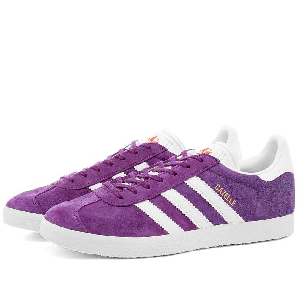 Adidas Womens Adidas Gazelle W In Purple