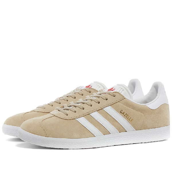 Adidas Womens Adidas Gazelle W In Neutrals