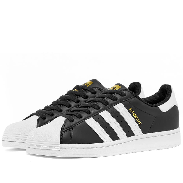 Adidas Womens Adidas Superstar W In Black