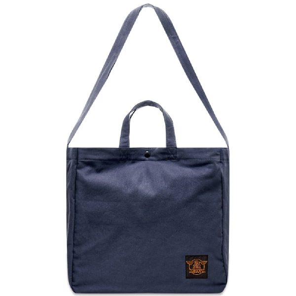 The Real Mccoys The Real Mccoy's Eco Shoulder Bag In Blue