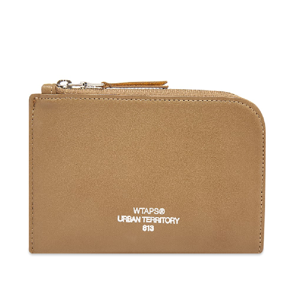 Wtaps Synthetic Leather Case In Brown