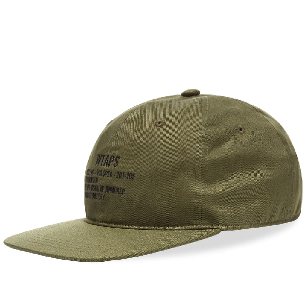 Wtaps T-6l 02 Cap In Green