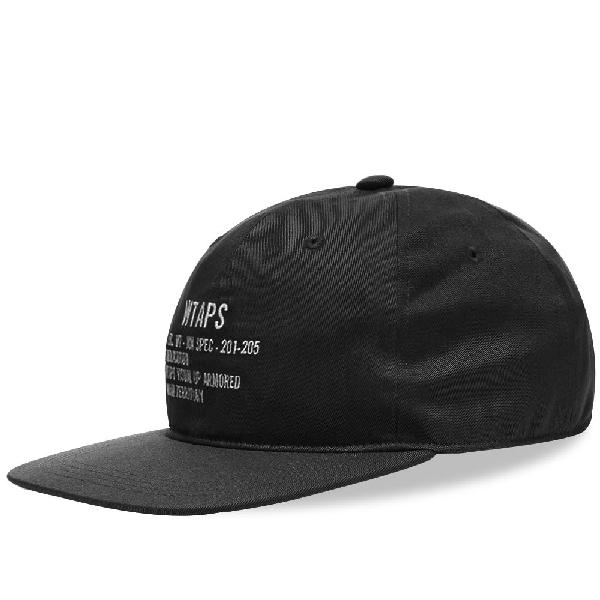 Wtaps T-6l 02 Cap In Black