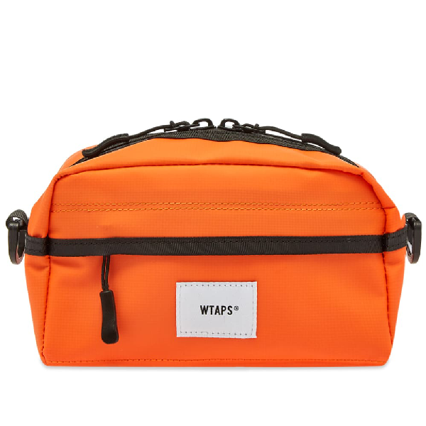 Wtaps Pvc Mag Pouch In Orange