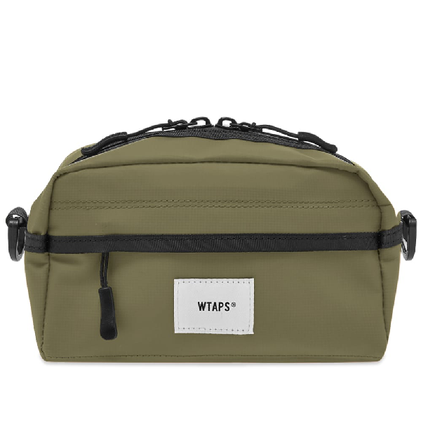 Wtaps Pvc Mag Pouch In Green