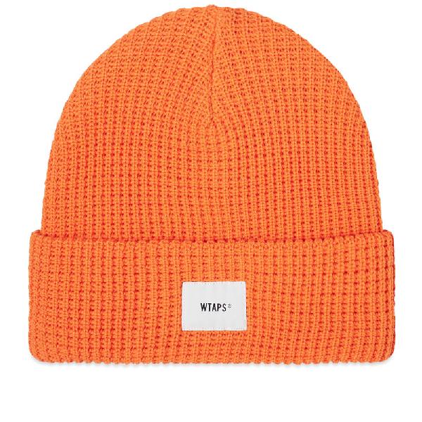 Wtaps Coolmax 02 Beanie In Orange