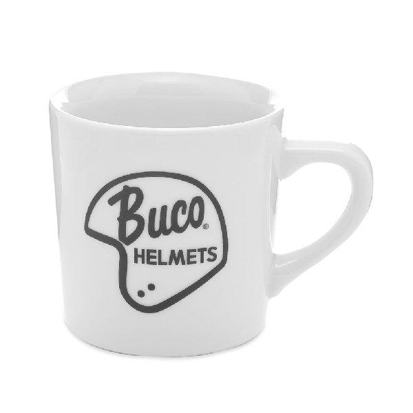 The Real Mccoys The Real Mccoy's Buco Mug In White