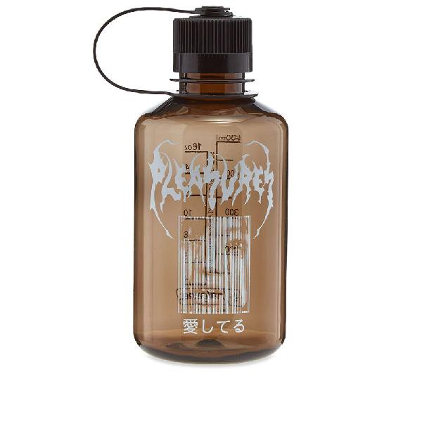 Pleasures 16oz Lonesome Nalgene Water Bottle In Black