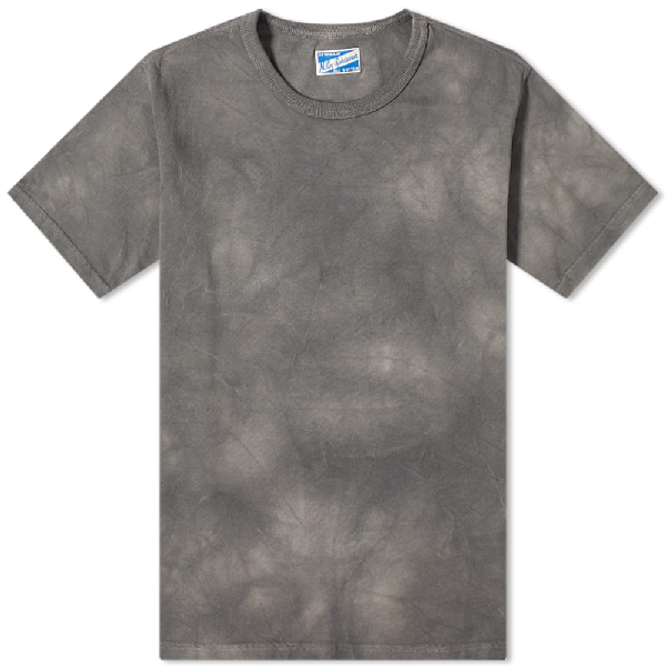 The Real Mccoys The Real Mccoy's Joe Mccoy Bleached Tee In Grey