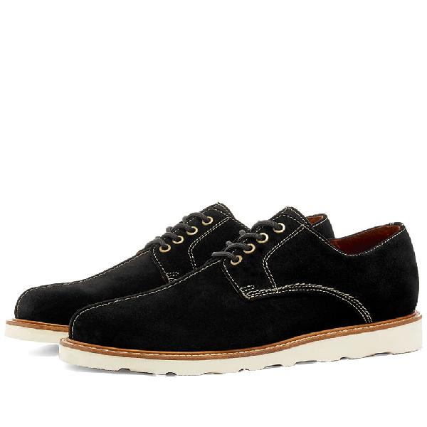 Wild Bunch Mst 4 Vibram Sole Seam Shoe In Black