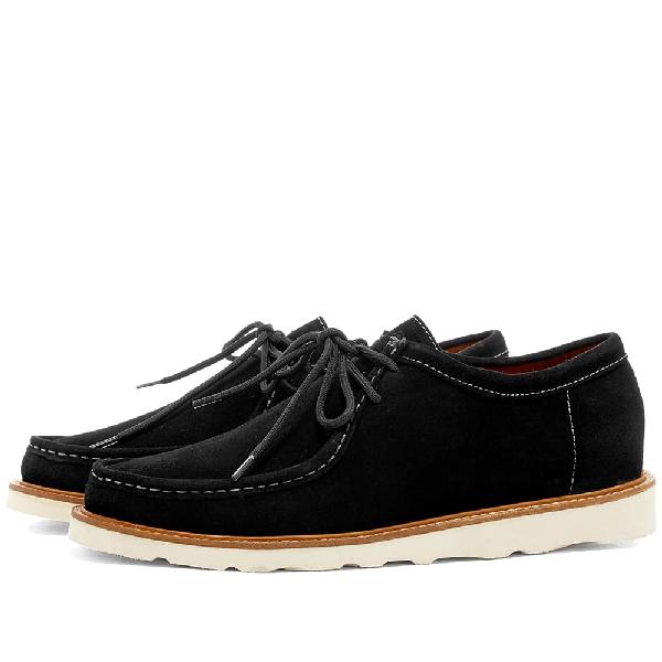 Wild Bunch Mst 11 Vibram Sole Wally Shoe In Black