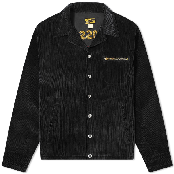 The Real Mccoys The Real Mccoy's 30s Corduroy Sports Jacket In Black