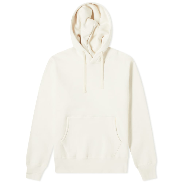 The Real Mccoys The Real Mccoy's 10oz Loopwheel Hoody In White