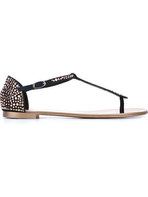 Giuseppe Zanotti 'gaia' Sandals In Black