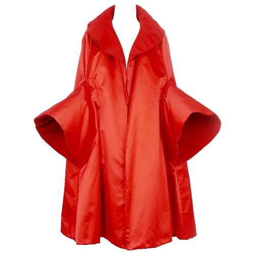 Roberto Capucci Red Silk Jacket