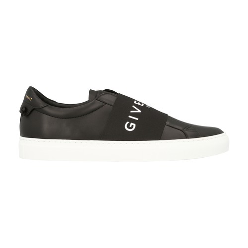Givenchy Men's Shoes Leather Trainers Sneakers Urban Street In Black