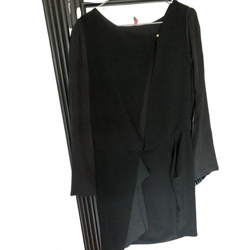 Vanessa Bruno Black Silk Dress