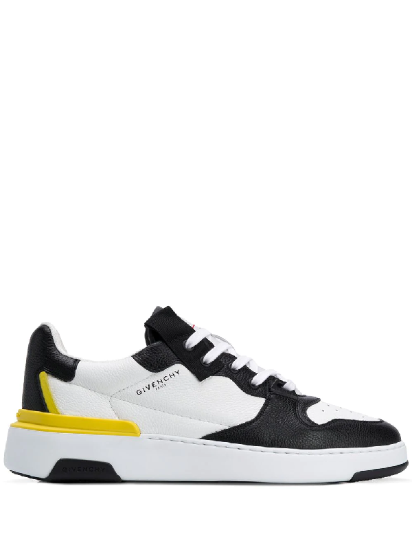 Givenchy Wing White/black Leather Sneakers