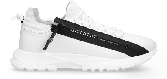 Givenchy White Spectre Runner Leather Sneakers