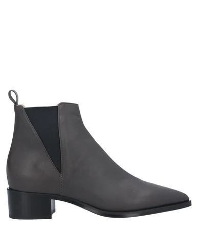 Pomme D'or Ankle Boot In Lead