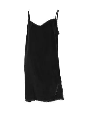 N:philanthropy Calvin Slip Dress In Black Cat