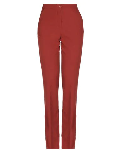 Hopper Casual Pants In Brick Red